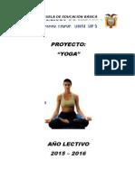 Proyecto Yoga