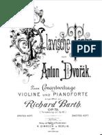 A Dvorak - Slav Dances for Violin & Piano