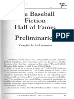 Baseball Fiction Roundtable (The Cooperstown Review)