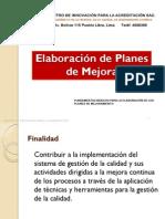 Elaboración de Proyectos de Mejora (1)