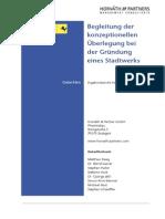 Stadtwerke Stuttgart Geschichte Und Unternehmesanteile