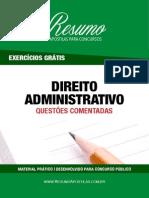 ResumoApostilas-QuestoesComentadasDireitoAdministrativo-ExercicioGratis.pdf