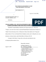 Sprint Communications Company LP v. Vonage Holdings Corp., et al - Document No. 283
