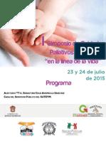 Cuidados Paliativos. Programa. Electronico