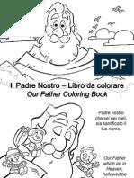 Il Padre Nostro Libro Da Colorare - Our Father Coloring Book