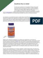 La Arginina Y Sus Beneficios Para La Salud