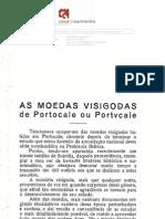 As Moedas Visigodas de Portocale Ou Portucale - Elias Garcia
