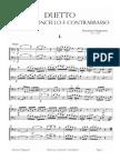 D.dragonetti - Cello and Bass Duetto