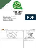 "Harvey Beaks ""Dad Band"" Storyboard"