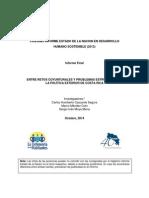Politica Exterior Entre Retos Coyunturales y Problemas Estructurales.