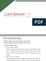 Luka Bakar ^_^