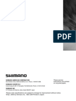 Shimano SC6500 Manual