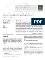 A Method for Enhancing Computational Efficiency in Monte Carlo Calculation of Failure Probabilities by Exploiting FORM Results