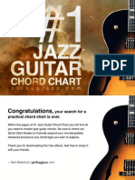 1 Jazz Guitar Chord Chart eBook