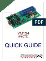 Quick Guide Vm134-k8076 Uk
