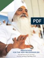 Meditations 2001
