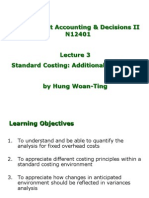 Accounting Standard costing