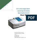 2800 Manual Unico
