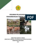 Pedoman Ternak Potong 2015