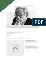 Los 10 Principios Del Buen Diseno de Dieter Rams