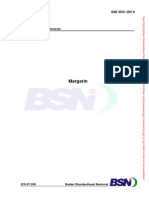 SNI 3541-2014 Margarine