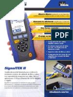 SignalTEK II Brochure Spanish Iss 1