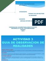 GUIA DE OBSERVACIÓN DE REALIDADES