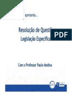 Legislacao Especifica caixa - Exercicios