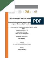 Avanze Del Proyecto 5.0