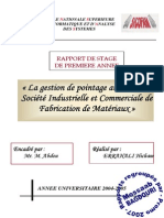 SICOFAM RAPPORT DE STAGE