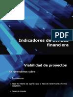Indicadores de Bondad Financiera
