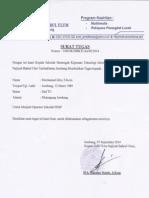Surat Tugas Operator SMK
