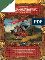TSR 1015 World of Greyhawk