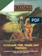 TSR 1043 the City of Greyhawk