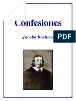 Jacobo Boehme - Confesiones