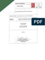 Manual de Procedimientos del Centro Nacional de Transfusioón Sanguinea
