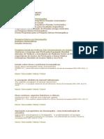 Homeopatia - Artigos e Publicalçoes