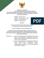 Peraturan Menteri Bersama No. 79 Tahun 2014 Tentang Tata Cara Penyelesaian Penguasaan Tanah Yang Berada Di Dalam Kawasan Hutan
