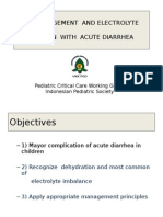 Fluid Management and Electrolyte Imbalance in Acute Diarhea(2)