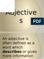 4 Adjectives