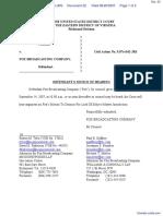 segOne, Inc. v. Fox Broadcasting Company - Document No. 22