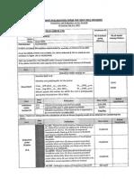 Investment Declaraion Form
