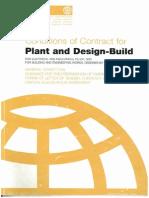 FIDIC_Plant and Design-Build