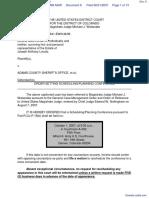 Lovato v. Adams County Sheriff's Office et al - Document No. 8