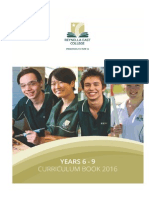 REC Middle School Curric Book 2016