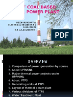 study of coal based thermal power plant