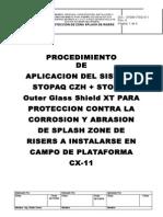 Procedimiento Para Validar Nace III de Aplicacion STOPAQ GLASS SHIELD SYSTEM en Campo - Demem Rev.4 (5)