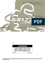 YFM7FGPY Yamaha Grizzly 700 Owners Manual