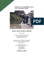 EvaluaciondelaCalidaddelAgua2004-2005