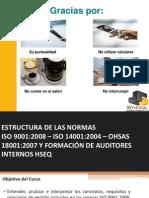 Curso Auditores Internos HSEQ 9001